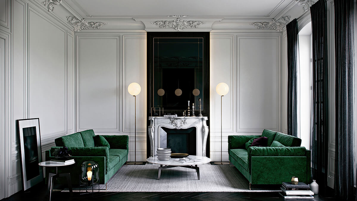 holborn - décoration d'intérieur - design d'espace - Appartement haussmannien