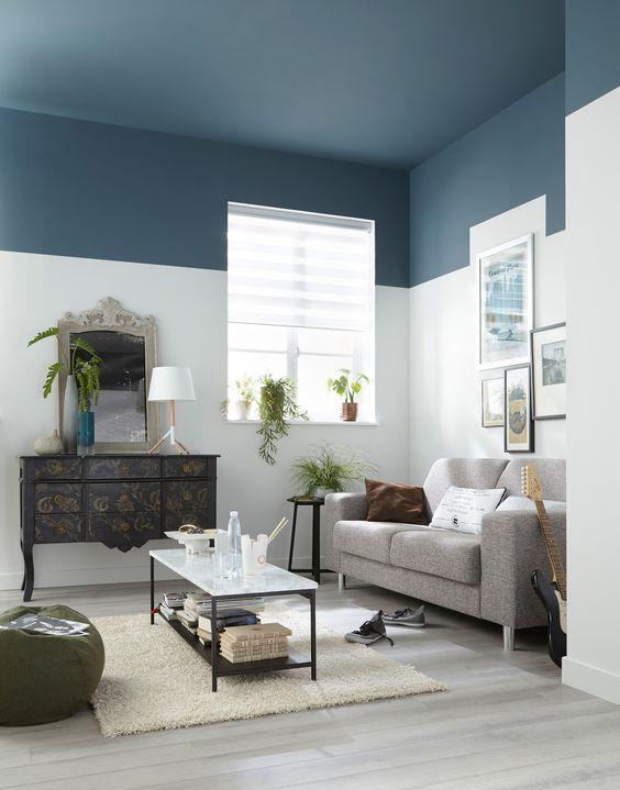 holborn - décoration d'intérieur - design d'espace - Plafond de couelur
