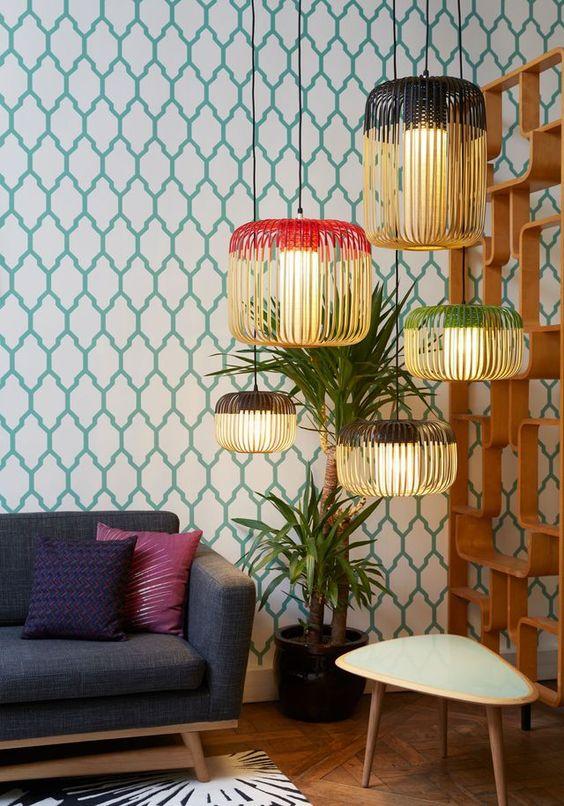 holborn - décoration d'intérieur - design d'espace - aménagement studio - luminaires grappe