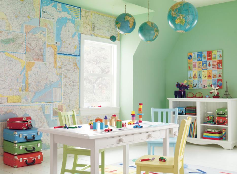d coration int rieure salle de jeu cr ative pour enfants holborn. Black Bedroom Furniture Sets. Home Design Ideas
