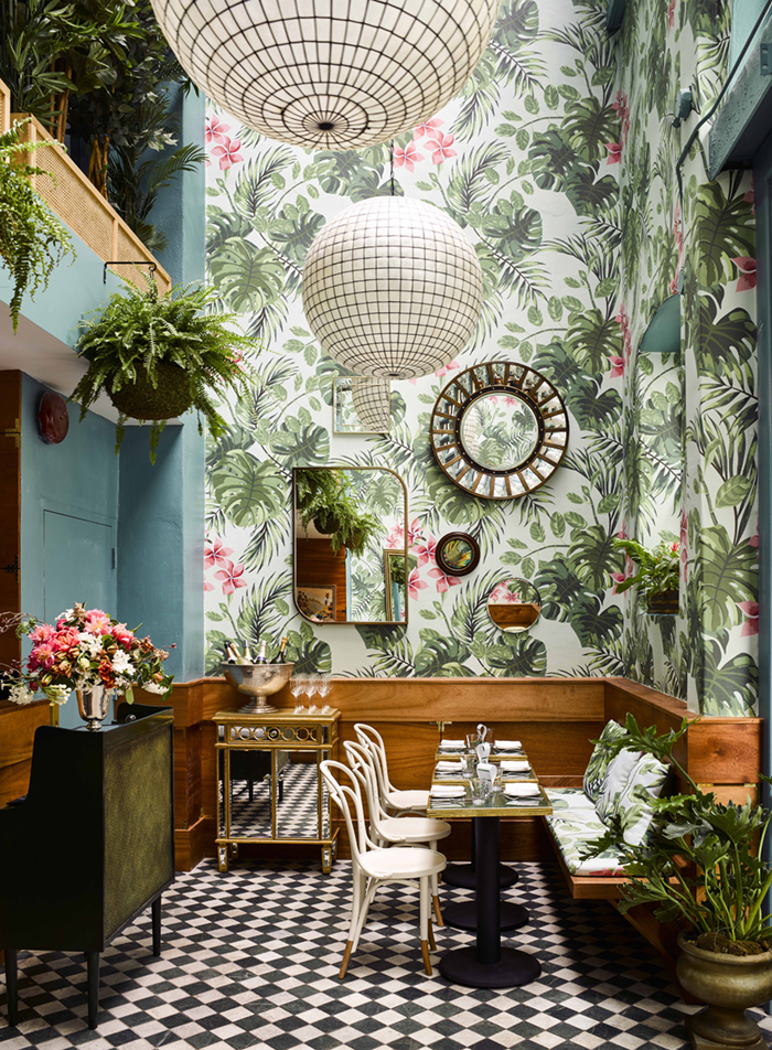 holborn - blog décoration d'intérieur - design d'espace - aménagement studio - Papier peint jungle tropical