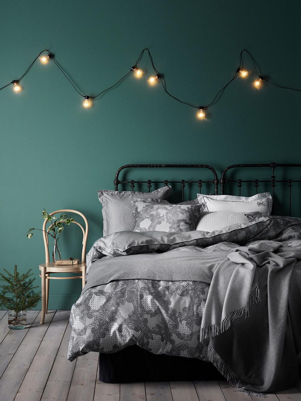 décoration d'intérieur - chambre verte, la nouvelle tendance - holborn