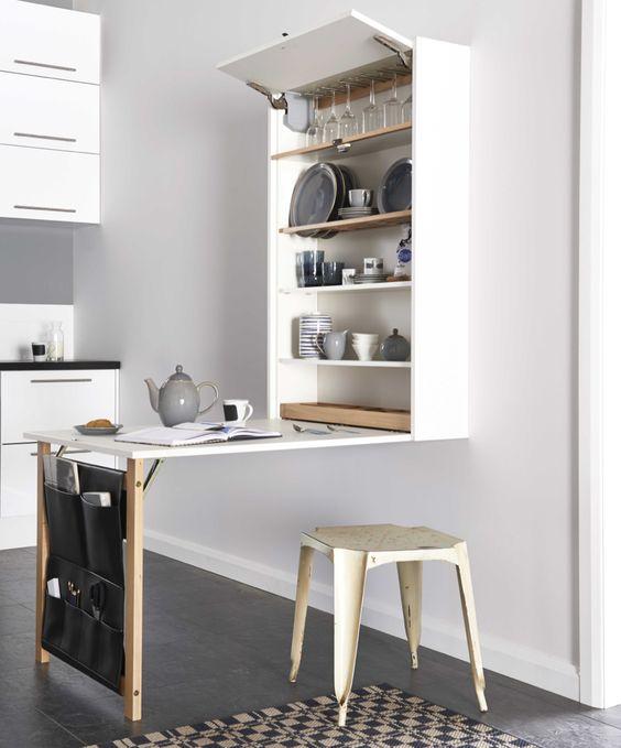 holborn - blog décoration d'intérieur - design d'espace - aménagement studio - Mini cuisine - Kitchenette